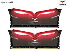 Team T-Force Night Hawk   16GB DDR4 Gaming Ram   LED Alu-Heatspreader   3000MHz