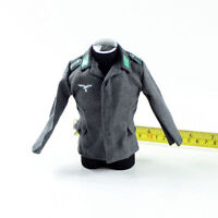 """1/6 Scale Male Coat for 12"""" Hot Toys Figure Body"""