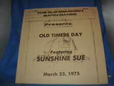 SUNSHINE SUE-OLD DOMINION BARN DANCE-OLD TIMERS DAY[INV-36]