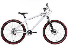 "2011 Kona Stuff Mountain Bike 17"" Medium Single Speed SS Manitou Avid"