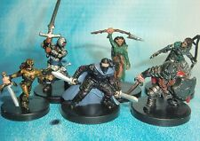 Dungeons & Dragons Miniatures Lot  Player Character Party Balanced !!  s114