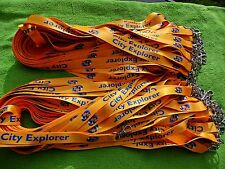 100 Personalised Lanyards, Your Logo,Text or Image,20mm High Quality 2 DESIGNS