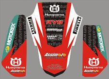 Kit Husqvarna Ps Pf TE - WR  2011 - crystal/adesivi/adhesives/stickers/decal