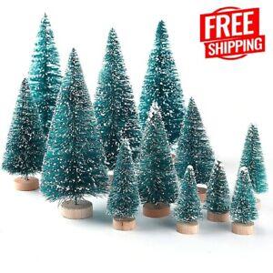 10Pc Mini Christmas Tree Artificial Small Pine Cedar Xmas Party Table Home Decor
