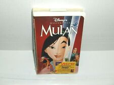 Walt Disney - Mulan VHS BRAND NEW FACTORY SEALED Classic Children's Disney 1998
