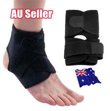 Adjustable Sports Compression Ankle Brace Support Stabilizer Elastic Foot Wrap E