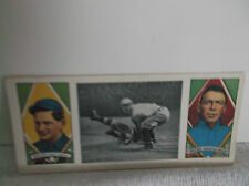 Dover 1978 Reprint 1912 Hassan TripleFolder BaseBall Card Ed Walsh & Fred Payne