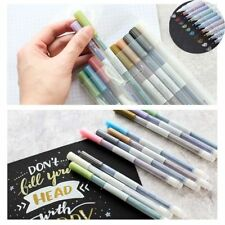 10 Pack Assorted Metallic Paint Marker Markers Set of 10 Colors Pens Pen New