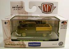 1961 '61 VOLKSWAGEN DOUBLE CAB TRUCK USA AUTO-THENTICS M2 MACHINES DIECAST 2017