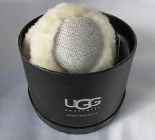 UGG Earmuffs Wired Tech Cardy Knit Shearling NEW