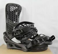 Burton Genesis X Reflex Snowboard Bindings Large Black Matte (US 10+) New
