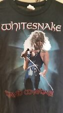 WHITESNAKE 1987 North American Farewell Tour vintage licensed concert t shirt MD