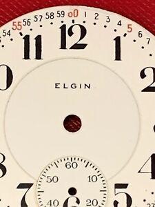 RARE ELGIN 18 SZE ORIGINAL PORCELAIN R.R.DIAL GRADE 349 & MANY ELGIN WATCHES!