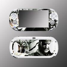 Metal Gear Solid MGS Peace Walker Big Boss Video Game Skin Sony PS Vita 1000