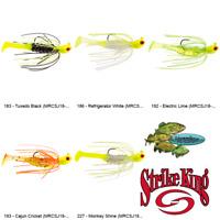 Strike King Mr Crappie Swim Jig Krappie Kicker 1/8oz (MRCSJ18) Any 5 Color Baits