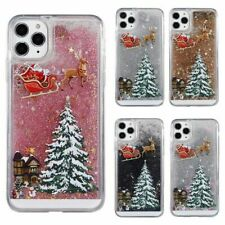 Christmas Phone Case Glitter Bling Cover For iPhone 7 8 + XR XS 11 12 13 Pro MAX