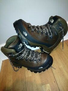 The North Face gortex Walking Hiking Boots Vibram Soles size 8 shoes mens womens