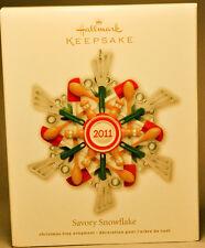 Hallmark: Savory Snowflake - Cook's Utensils - 2011 Keepsake Ornament