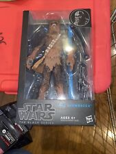 "Chewbacca #04 STAR WARS BLUE The Black Series MIB 6"" Scale #2"