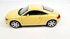 Revell Audi TT Rare 1:18 Scale Diecast Metal Pale Yellow Collectible Model Car
