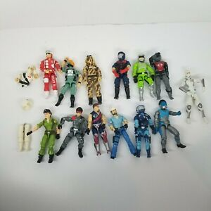 G.I. Joe Hasb 1985-1986 Action Figures LOT OF 13! 1 extra.See pics for details.