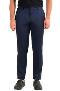 """Hugo Boss Men's""""Novan6/Ben"""" Slim Fit 100% Wool Dress Pants US 32R IT 48R"""