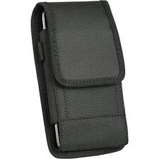 Extra Large Samsung Galaxy S5 & S4 Vertical Smart Phone Case Pouch w/ Belt Loop