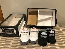2 RARE 2010 Nike Air Retro Jordan 3 White Cement 2c Infant & Black White Air Lot