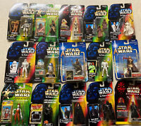 🟢 Star Wars Power of the Force Sealed Kenner/Hasbro  Figures Lot Of 15 New