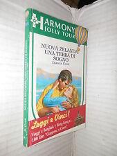 NUOVA ZELANDA UNA TERRA DI SOGNO Daphne Clair Harmony 1989 libro romanzo storia