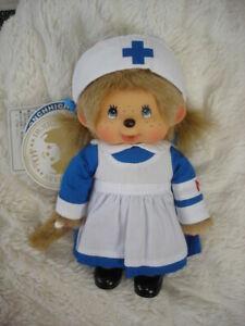 RAR Monchichi Monchhichi Krankenschwester Nurse Feste Beine KIKI Sekiguchi
