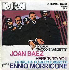 JOAN BAEZ  ENNIO MORRICONE SACCO E VANZETTI 1971 RCA