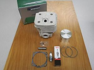 Meteor cylinder piston kit for Husqvarna 395 395XP 56mm Italy Nikasil