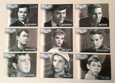 Twilight Zone Series 1 - Premiere Edition - Stars COMPLETE Set!