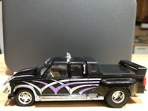 Majorette 2 All American Road Kings Chevy Sport Side & Custom Dually 1:32 Loose