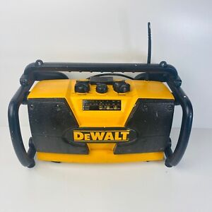 Dewalt DW 911 Site Radio AM/FM JobSite Radio For Garden, Shed Or Garage.
