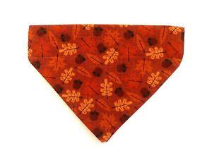 Fall Dog bandana slip over the collar Pet Collar Bandana Pet Scarf Neckerchief