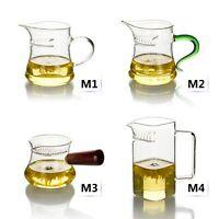 Kinds Heat-resistant Glass Tea Pitcher w/ Filter Handle Fair Mug Cha Hai Teacup