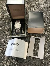 Seiko De Colección Reloj con Cuadrante Blanco SQ100