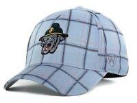 U.S. Marines Bulldogs Gray Plaid Flex Fit hat NCAA cap one size