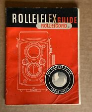 Rolleiflex & Rolleicord, Focal Press Guide.28th Edition 1954