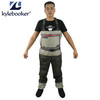 Fly Fishing Stockingfoot Chest Waders Affordable Breathable Waterproof Wader