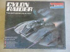 New listing Sealed Mib Vtg 1978 Battlestar Galactica Cylon Raider Monogram Model Kit 6026