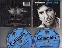LEONARD COHEN The Essential 2002 DOUBLE CD MINT FREEPOSTAGE