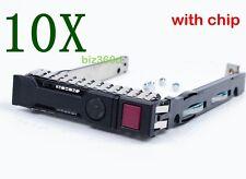 """2x 651687-001 651699-001 2.5"""" HD SAS SATA Caddy Tray 4 HP Compaq PROLIANT G8 G9"""