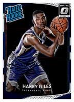2017-18 Donruss Optic Rated Rookie Harry Giles III Kings #181 NBA RC PWE
