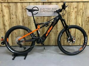 Ex Demo KTM Macina Prowler Master Electric Mountain Bike Full Sus Free Delivery