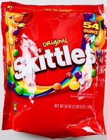 Original Skittles Candy Bite-Size Chewy Fruit Flavors, 54 Ounces