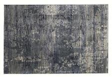 Musterring Wave Kontura 924 grau-blau Designer Teppich