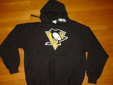 NHL PITTSBURGH PENGUINS Embroidered MAJESTIC  Sweatshirt  NEW NWT... sz... LARGE